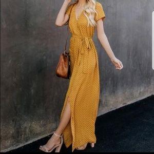 Vici Wrap Maxi Dress